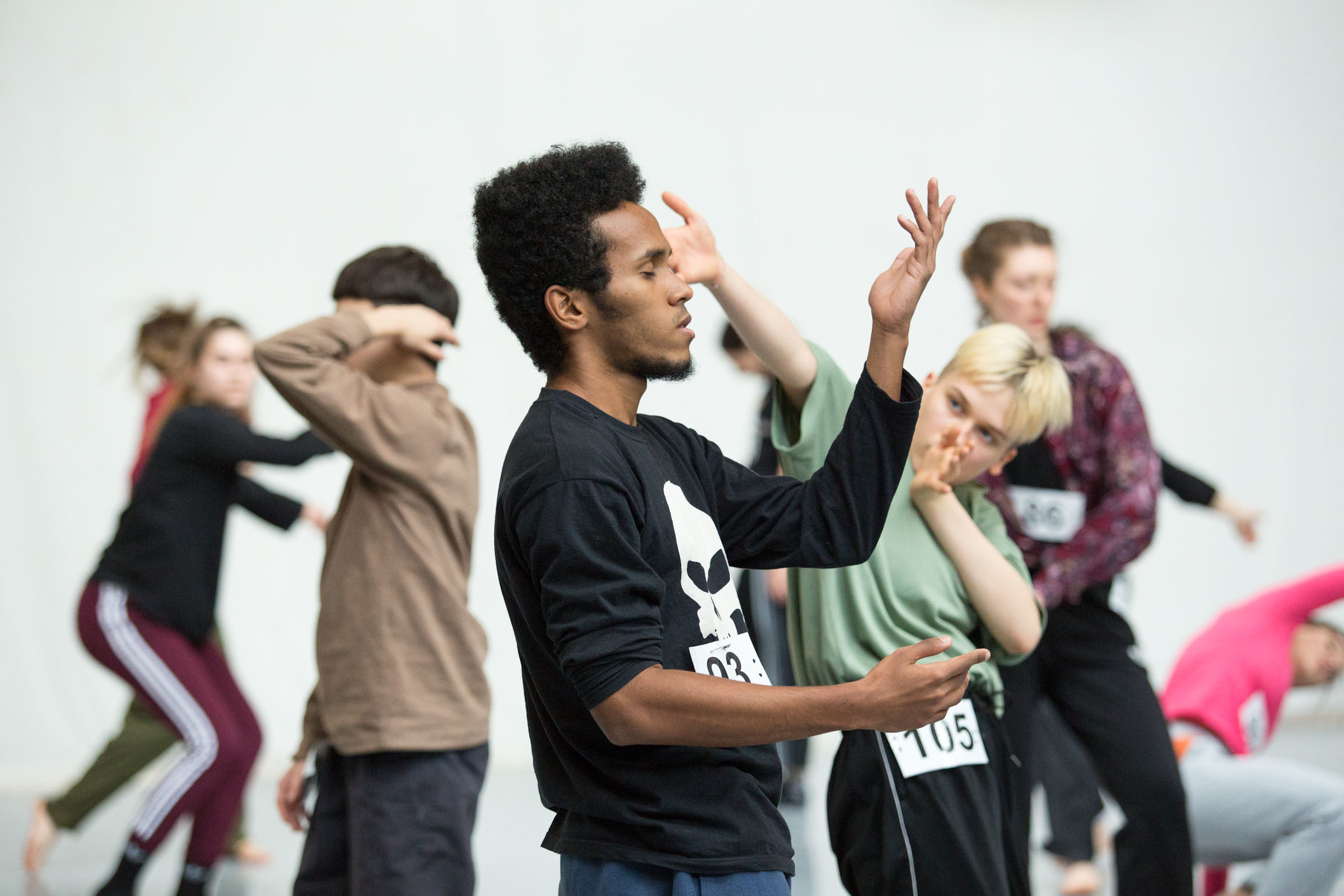 Finale audition class David-Hernandez - picture by Tine Declerck