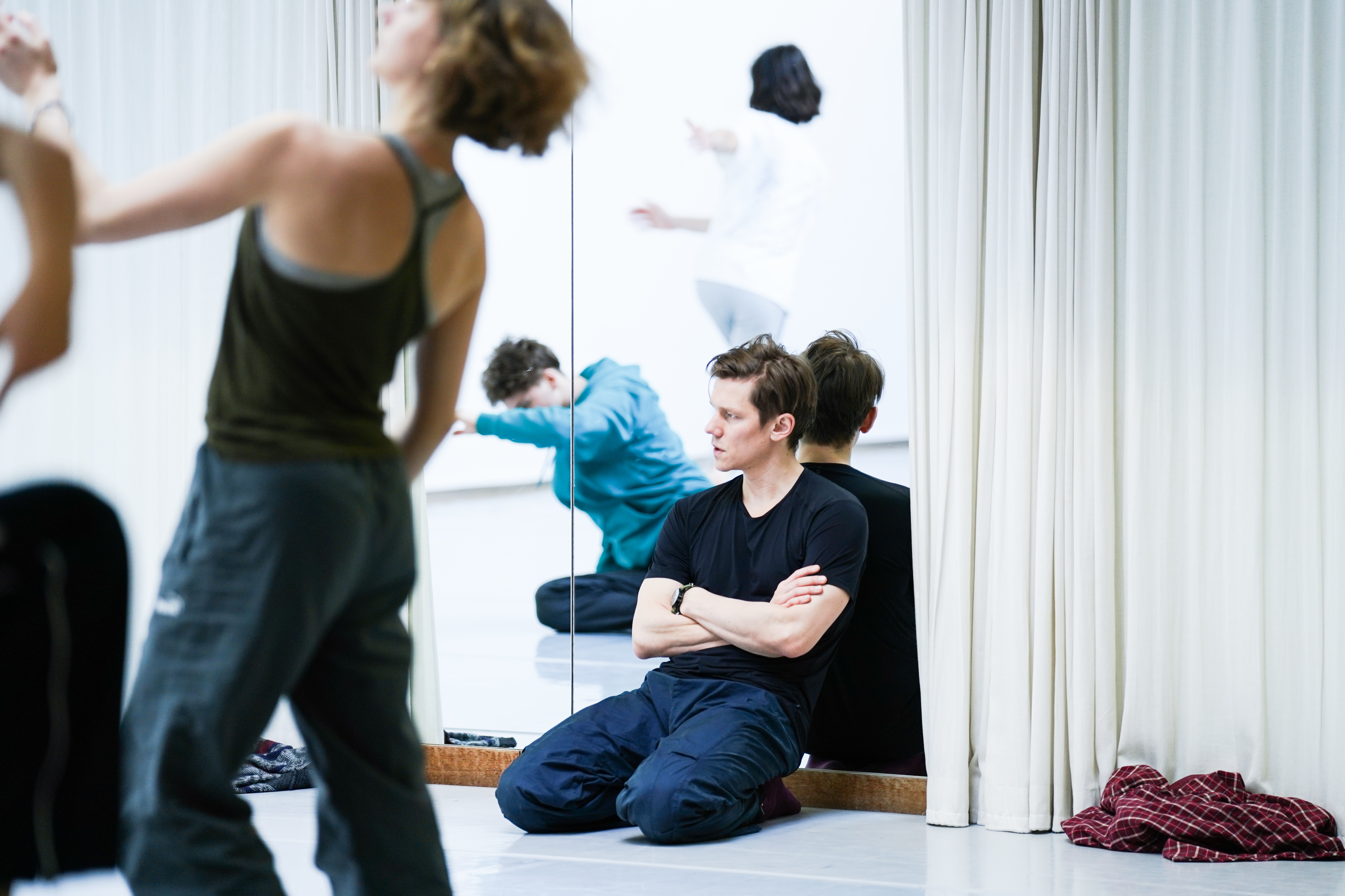 2020 W. Forsythe with Tilman O'Donnell ©Olympe Tits